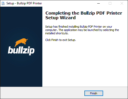 BullZip PDF Printer 2019 Latest Version Related Applications