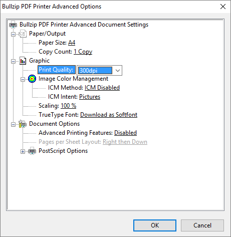 Change The DPI Setting