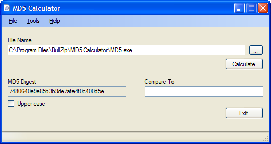 Md5 calculator