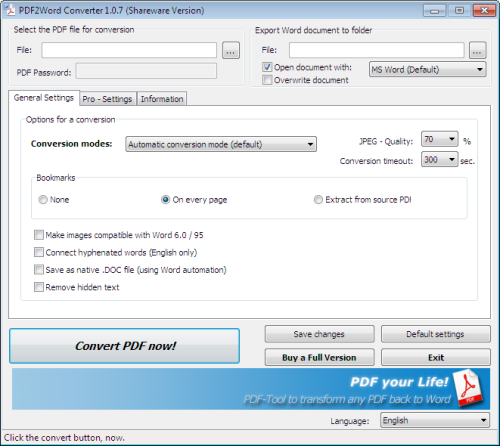 Pdf to convert word document document